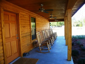 Below Are A Couple Pictures Of Our Little Cabin That Is Home To Justin The Office Registration Lobby Restrooms And Laundry
